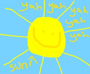 sun is hup