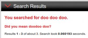doo doodoo?